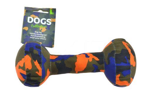 Hračka pro psy s pískátkem DOGS - Činka (20cm) - 8719202565454