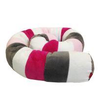 Aesthetic Víceúčelový Válec - bílá, růžová střední, malinová, šedá střední Délka: 1,2 m