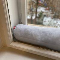 Aesthetic Dveřní a okenní ochrana proti průvanu - 100% len - gramáž: 245 g/m2 MIX barev Barva: Black