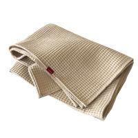 Aesthetic Bavlněný ručník/osuška s vaflovým vzorem - Beige Rozměr: 95x150 cm