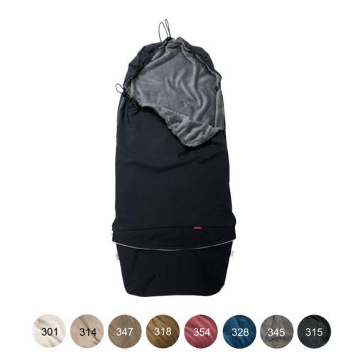 Aesthetic Fusak přechodový 3v1,  softshell/mikroplyš  (černá/mix barev ) Barva vnitřní: 328 petrolová