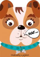 Omalovánka A4 zvířátka - Pes (8595593820965)