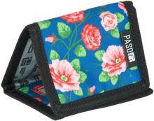 Paso peněženka květiny barevné módní 17-882uv