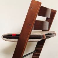 Aesthetic Stokke Tripp Trapp - polstr - podsedák Barva: Graphite Grey, Velikost: sedák - hloubka 25cm