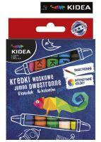 Obojstranné voskové tužky na obou stranách 8 ks kidea
