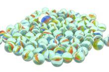 Skleněné kuličky, duhovky - Set 100 + 1 ks - 8711295996269