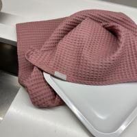 Aesthetic Bavlněná utěrka - 100% bavlna vafle - Lilac