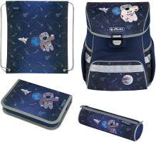 Herlitz smyčka školní taška plus příslušenství pro vesmírný prostor 4v1