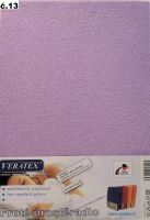 VERATEX Froté prostěradlo 140x220 cm (č.13-fialková)