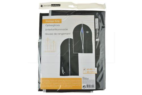 Úložný ochranný obal na šaty nebo oblek - 60x90cm - 7711227654527