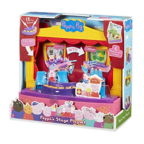 Herní set Peppa Pig set divadlo se zvukem 5029736069643