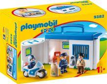 Playmobil přenosná policejní stanice 9382