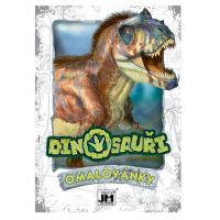omalovánka A5 Dinosauři (8595593817774)