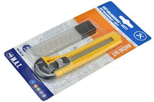 Set - Odlamovací nůž a 10ks listů 18mm - 8590419762139