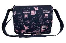 Svrchní taška přes rameno sb-10 koček kočička