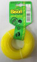 Bison BASIC PROFI (žlutá)- kruhový profil 2,0mm 100m (085)
