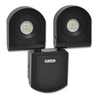 Ecolite LED reflektor RL3226-2x10W LED svítidlo,8xSMD3535,10W,6400K,IP54,1440l