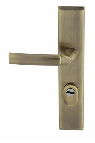 Vchodové kování SPACE K+K Klika dlouhý štít vchodová +zabezpečení
