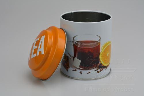 Plechovka na čaj