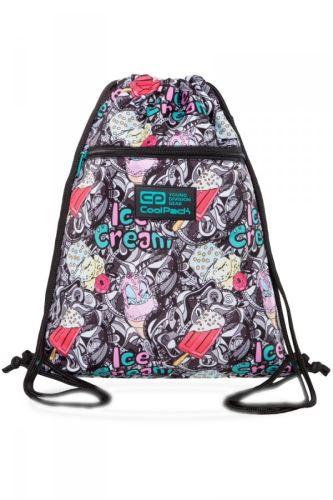 Školní taška Coolpack na boty vert zmrzlina