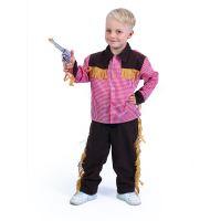 Dětský kostým kovboj (S) (8590687199132)
