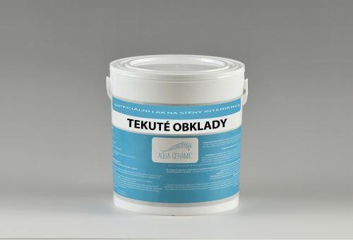 Dekorační lak na stěnyTEKUTÉ OBKLADY Aqua ceramic 1 L mat