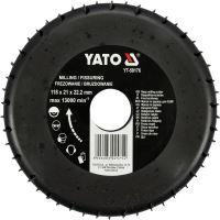 Yato Rotační rašple frézovací 118 mm YT-59176