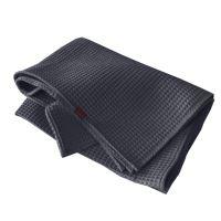 Aesthetic Bavlněný ručník/osuška s vaflovým vzorem - Grey Rozměr: 47x70 cm