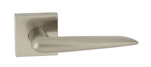 Dveřní dělené rozetové kování SCORPIUS-QR Klika štít hranatý