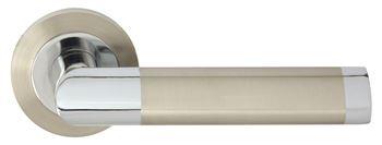 Dveřní dělené rozetové kování JARO-R ECO