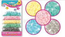 Astra confetti fleece mix 5 pastelových barev (335116005)