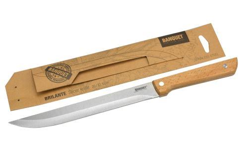 Nerezový kuchyňský porcovací nůž BANQUET (20/32,5cm) - 8591022366530