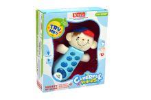 Dětský telefonek GAZELO dělá zvuky a bliká - Modrý (16cm) 18m+ (2xAAA) 5907773988434 - 5907773988434