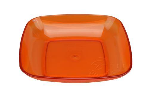 Průhledná plastová miska na potraviny IRAK 700ml