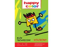 Happy color block tech. a3 barva 10k 170g