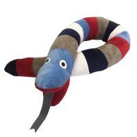 Aesthetic Válec multicolor, had - mikroplyš - multicolor blue