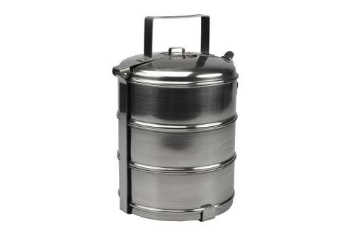 Nerezový jídlonosič 3 dílný (14cm) - 8591634000723