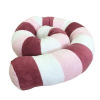 Aesthetic Víceúčelový Válec - bílá, růžová světlá, šeříková Délka: 1,2 m