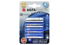 Alkalické baterie Agfa Photo AA MN1500 1.5V - 4ks - 4250175808017