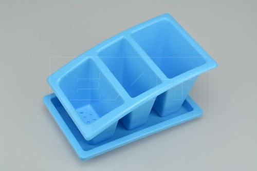 Odkapávač na příbor HEIDRUN (22x14x12cm) - Modrý - 8010059022139