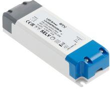 GTV  LD-ZASPRO33W-30 LED trafo AC220-240/DC12V, 33W ,  IP20