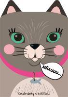 Omalovánka A4 zvířátka - Kočka (8595593820958)