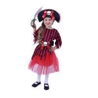 Dětský kostým pirátka s kloboukem (S) (8590687207783)