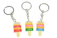 Plastový přívěšek na klíče GAZELO (4cm) - Nanuk - 1ks mix barev - 5900949406220