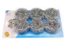 Nerezové drátěnky JIEDE - Set 6ks (6cm) - 8657988209752
