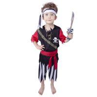 Dětský kostým Pirát s šátkem (L) (8590687884151)