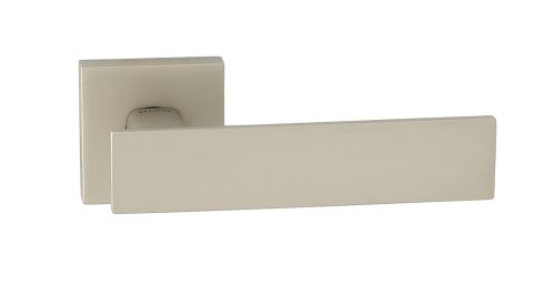 Dveřní dělené rozetové kování AGUEDA-QR Klika štít hranatý