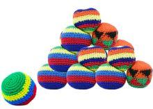 Míček Hakisak - Footbag barevný (8590687840676)