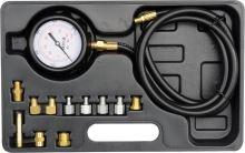 Yato Souprava k měření kompresního tlaku oleje, 12ks, 0-35bar YT-73030