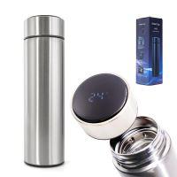 Termohrnek smart LED 500ml stříbrný